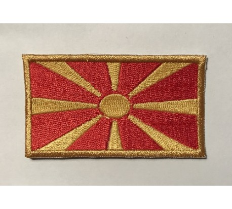 Parche bandera macedonia