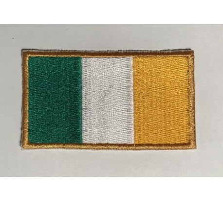 Parche bandera irlanda