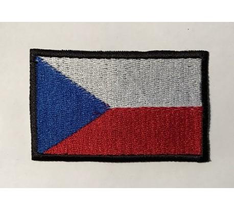 Parche bandera republica checa