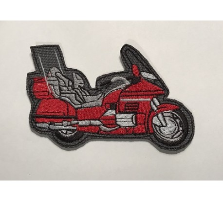 Parche honda goldwing rojo
