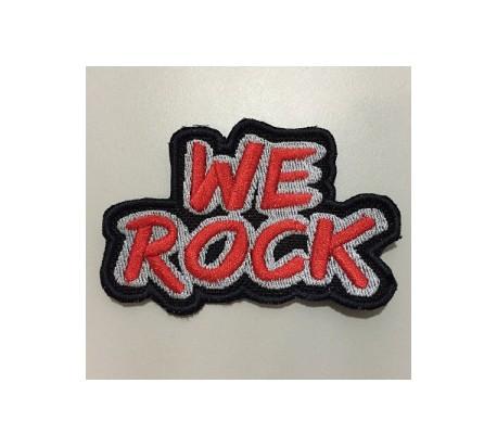Parche WE ROCK