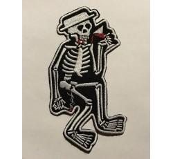 Parche esqueleto vicio
