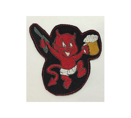 Parche demonio birra