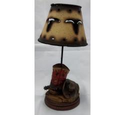 LAMPARA DE VELA WESTERN