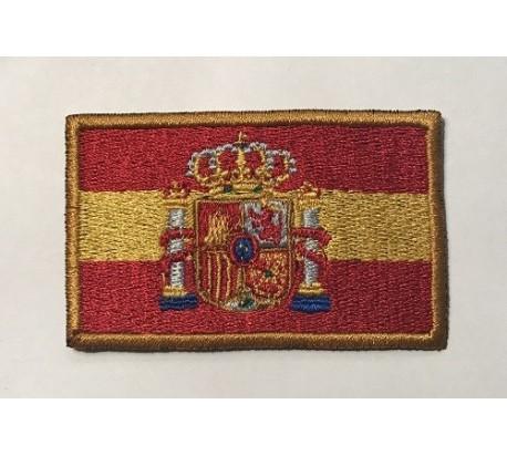 Parche bandera españa escudo