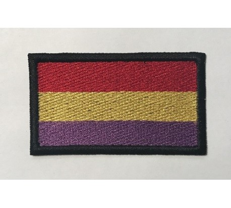 Parche bandera españa republicana