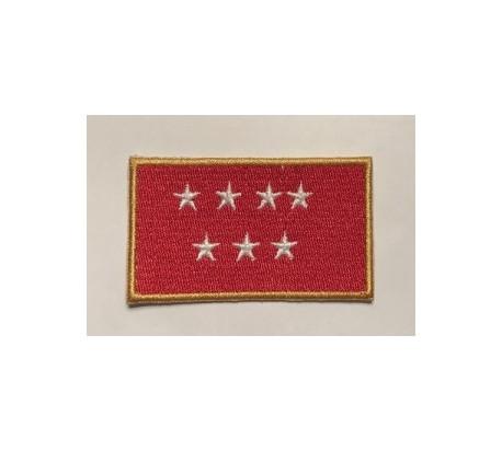 Parche bandera comunidad de madrid