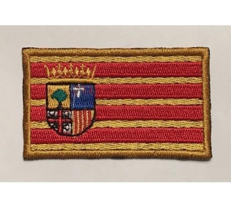 Parche bandera comunidad de aragon