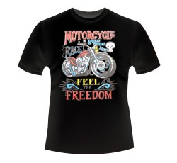 CAMISETA NIÑO MOTORCYCLE FREEDOM