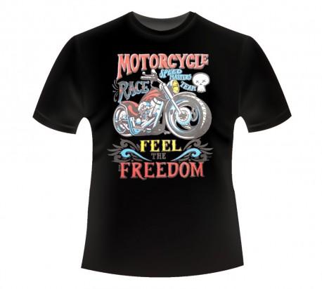 CAMISETA NIÑO MOTORCYCLE FREEDOM