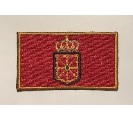 Parche bandera navarra