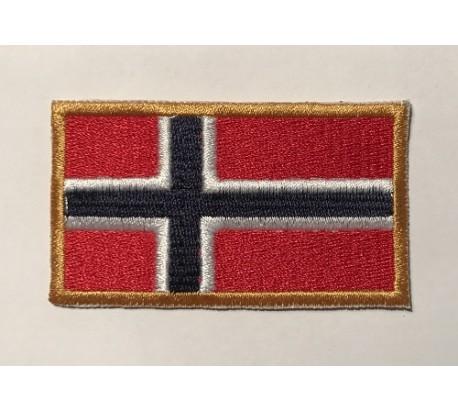 Parche bandera noruega