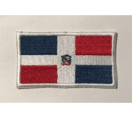 Parche bandera republica dominicana