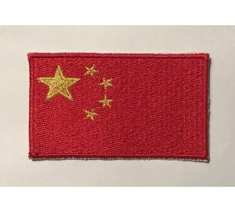 Parche bandera china