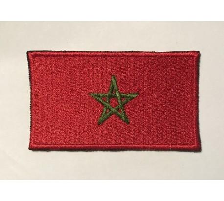 Parche bandera marruecos