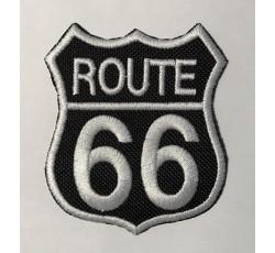 Parche route 66 dorado