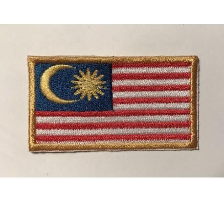 Parche bandera malasia