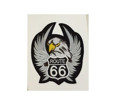Parche route 66 negro