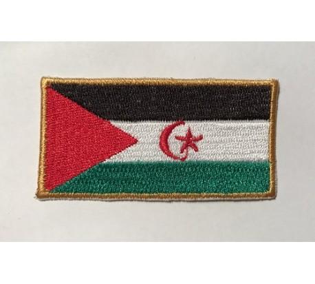 Parche bandera sahara occidental