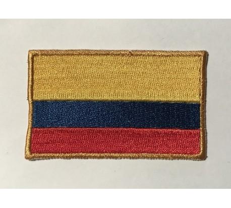 Parche bandera colombia