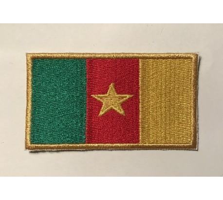 Parche bandera camerun