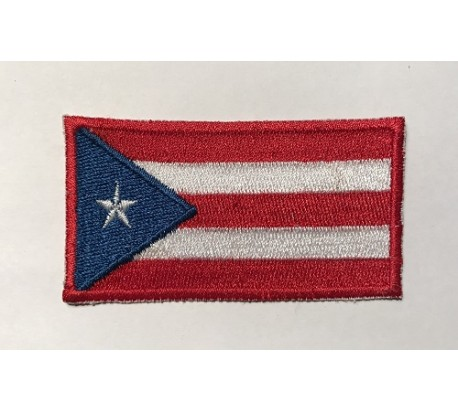 Parche bandera puerto rico
