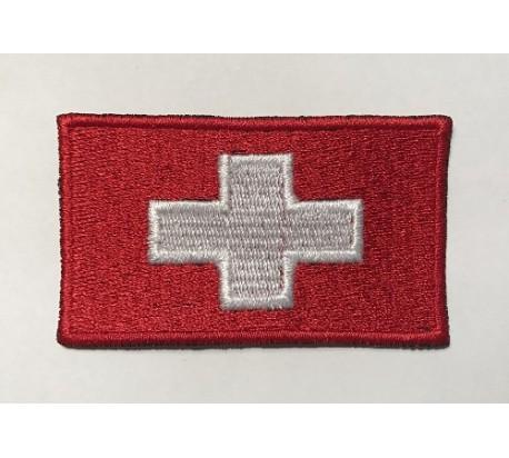 Parche bandera suiza