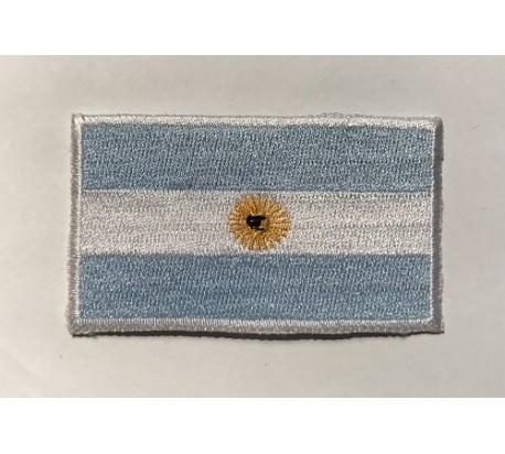 Parche bandera argentina